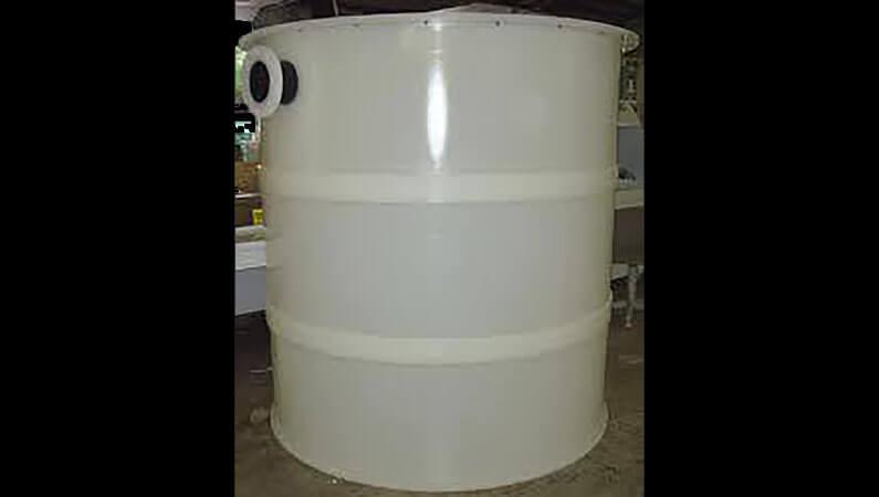 PVDF Round Tank